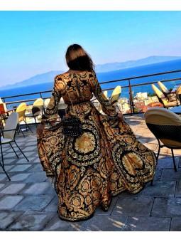 Vestido estampado Praga