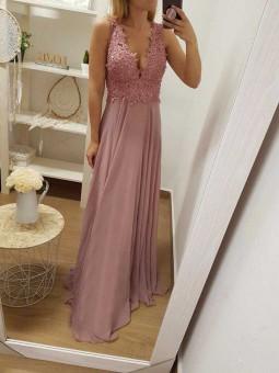 Vestido Oslo rosa
