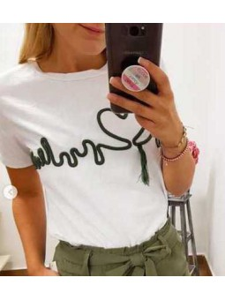 Blazer verde // Camiseta cardio verde