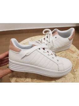 Zapatillas deportivas rosa