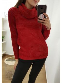 Conjunto suéter y cuello...