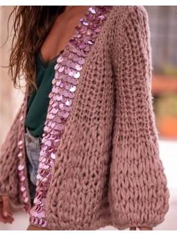 Chaqueta lana laterales...