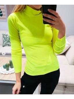Suéter fluor amarillo