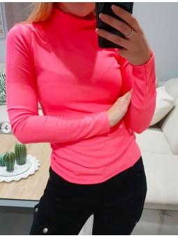Suéter fluor rosa