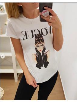 Camiseta A. Hepburn