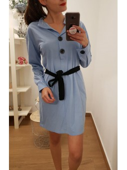 Vestido azul vaquero...