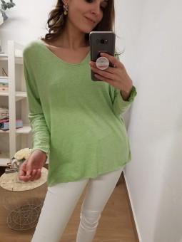 Suéter  oversize verde //...