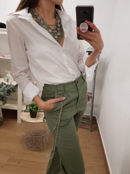 Collar verde militar