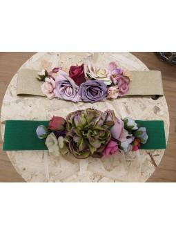 Cinturón flores centrales