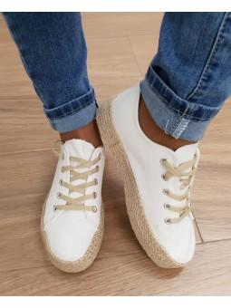 Zapatillas cordones suela...