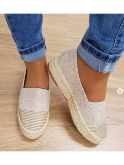 Zapatillas brillo fondo...