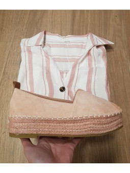 Zapatos rosa maquillaje...
