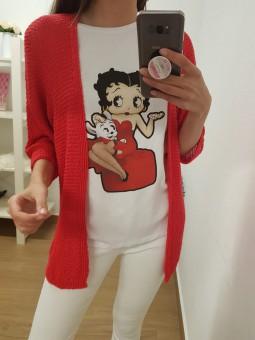 Camiseta Betty Boop perrito...