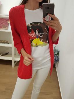 Camiseta snow white bosque