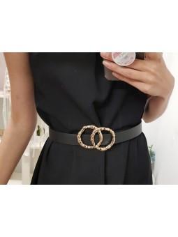 Cinturón negro dos círculos...