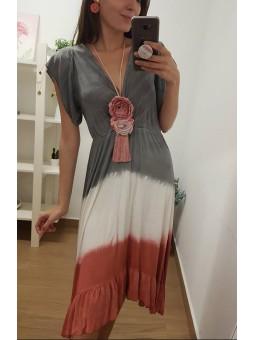 Vestido degradado tonos...
