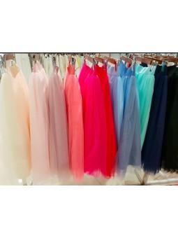 Falda de tul midi varias capas