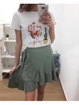 Camiseta chica revista...