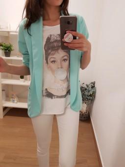 Camiseta audrey pompa