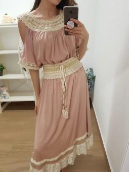 Blusa Lanzarote rosa//...