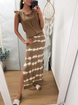 Conjunto camel falda Egipto...