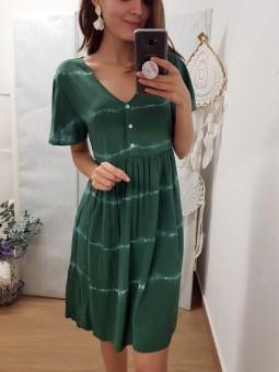 Vestido Indonesia verde...