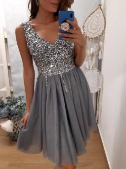 Vestido corto bright