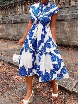 Vestido Desiré azul