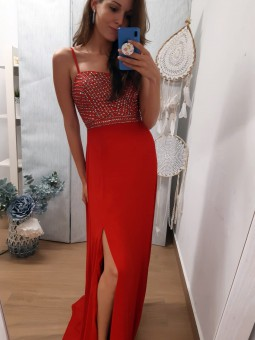 Vestido rojo Victoria