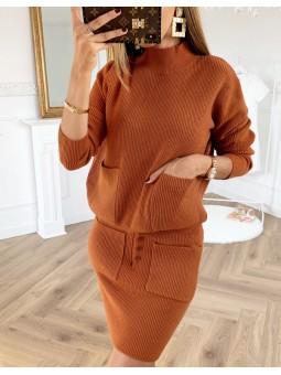 Conjunto lana fina suéter...
