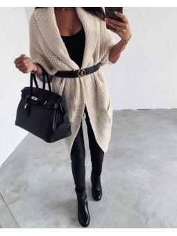 Chaqueta lana solapa...