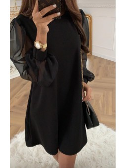 Vestido Nantes negro