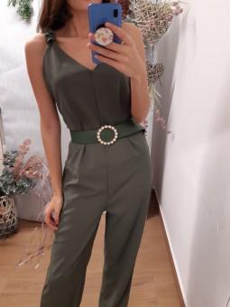 Mono estilo oversize verde...