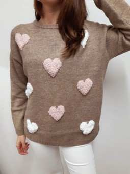 Suéter marrón Candy (NE)