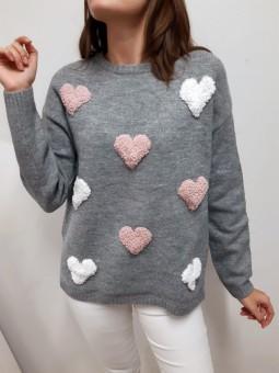 Suéter gris Candy (NE)