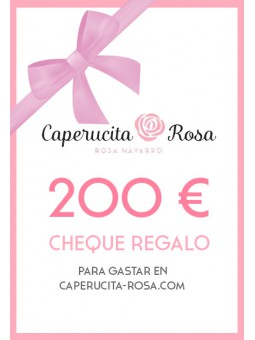 Cheque Regalo 200€