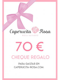 Cheque Regalo 70€