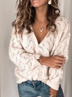 Suéter Lorena tono beige...