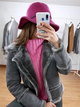 Sombrero fucsia
