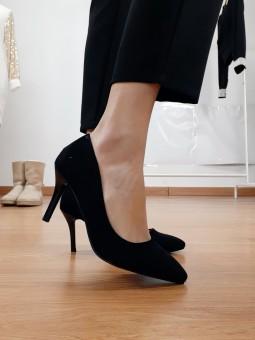 Zapato negro de salón (JM69)