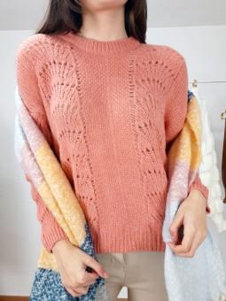 Suéter troquelado Alexa...