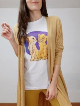 Camiseta simba y nala...