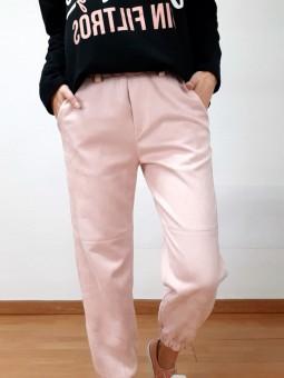 Pantalón ante rosa claro (M17)