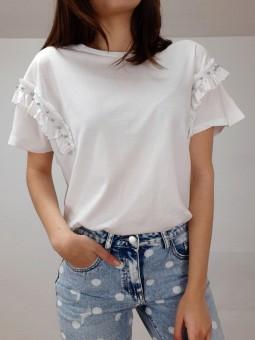 Camiseta blanca lisa...