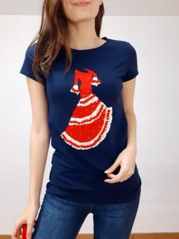 Camiseta azul marino...