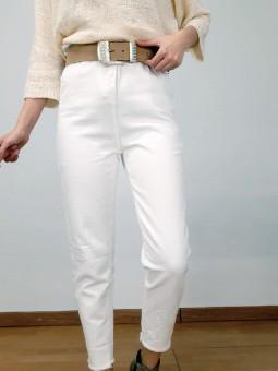 Pantalón vaquero blanco...