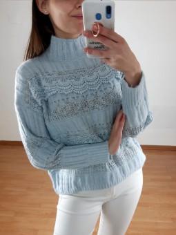 Suéter azul claro Elena...