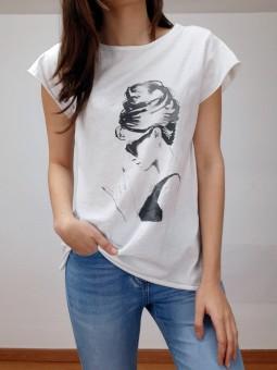 Camiseta blanca Audrey...
