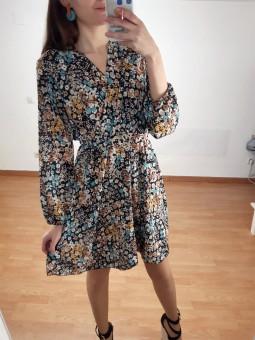 Vestido Sofia mini flores...