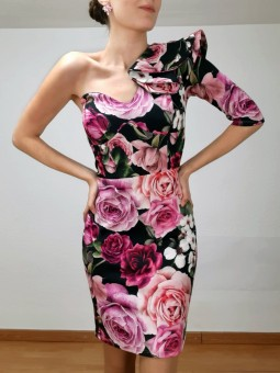 Vestido Anais asimétrico...